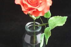 Makerist - Rose aus Blütenpaste - 1