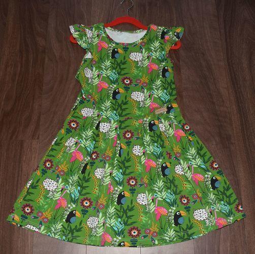 Makerist - Freddi Mädchenkleid Gr. 122 - Nähprojekte - 1