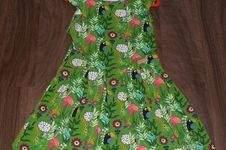 Makerist - Freddi Mädchenkleid Gr. 122 - 1
