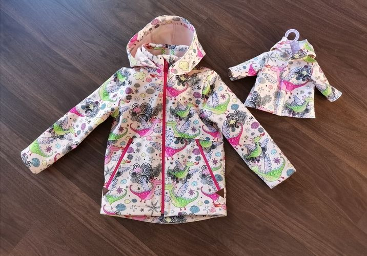 Makerist - Softshelljacke für Mädchen & Pandas <:0)) - Nähprojekte - 1