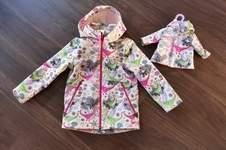 Makerist - Softshelljacke für Mädchen & Pandas <:0)) - 1