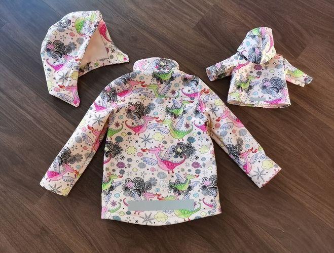 Makerist - Softshelljacke für Mädchen & Pandas <:0)) - Nähprojekte - 2