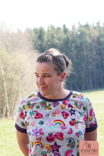 Makerist - Ein knallbuntes lillesol women No.10 T-Shirt und 5 Tipps gegen Lagerkoller! - Nähprojekte - 1