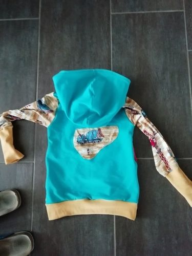 Makerist - Super cooler Hoodie Ferdinand  - Nähprojekte - 3