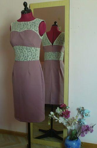 Makerist - Robe Rose et Dentelle  - Créations de couture - 1