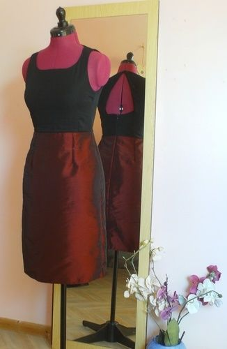 Makerist - Robe de soirée noir et rouge  - Créations de couture - 1