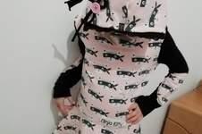 Makerist - Stylisches Volant Kleid mit Kuschelkapuze - 1