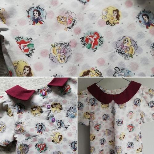 Makerist - Robe fillette Lovely - col claudine - Créations de couture - 2