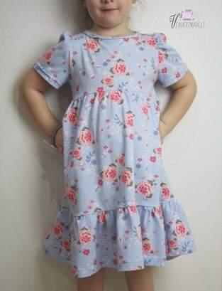 Girls Partydress - Jessy Sewing