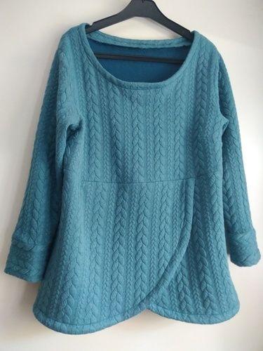 Makerist - sweat-shirt Lana de Fadenkaefer. En jersey torsadé. - Créations de couture - 1