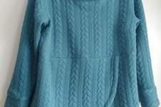 Makerist - sweat-shirt Lana de Fadenkaefer. En jersey torsadé. - 1