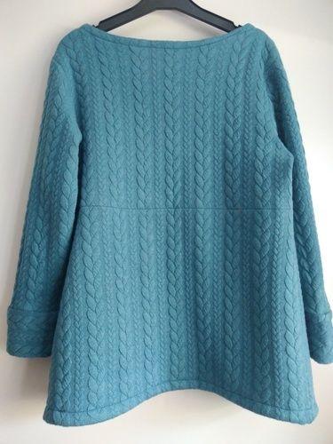 Makerist - sweat-shirt Lana de Fadenkaefer. En jersey torsadé. - Créations de couture - 2