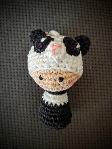 """Makerist - Schlüsselanhänger """"Little Panda""""  - Häkelprojekte - 1"""