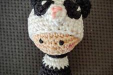 """Makerist - Schlüsselanhänger """"Little Panda""""  - 1"""