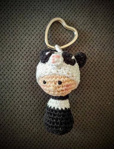 """Makerist - Schlüsselanhänger """"Little Panda""""  - Häkelprojekte - 2"""