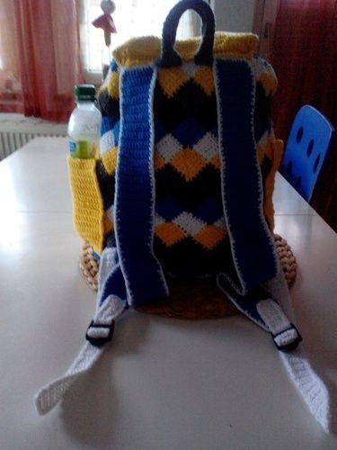 Makerist - Rucksack - Häkelprojekte - 2