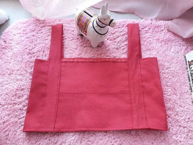 Makerist - Crop top en jean framboise - Créations de couture - 1