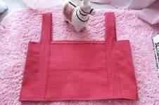 Makerist - Crop top en jean framboise - 1