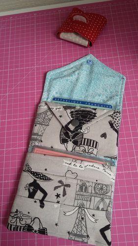 Makerist - mini portefeuille cherry - Créations de couture - 2