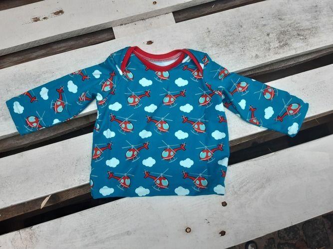 Makerist - Babyshirt mit amerikanischem Ausschnitt - Nähprojekte - 1
