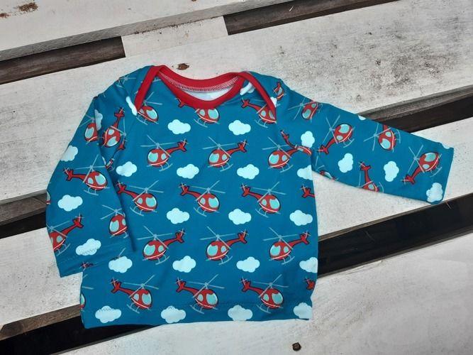 Makerist - Babyshirt mit amerikanischem Ausschnitt - Nähprojekte - 2