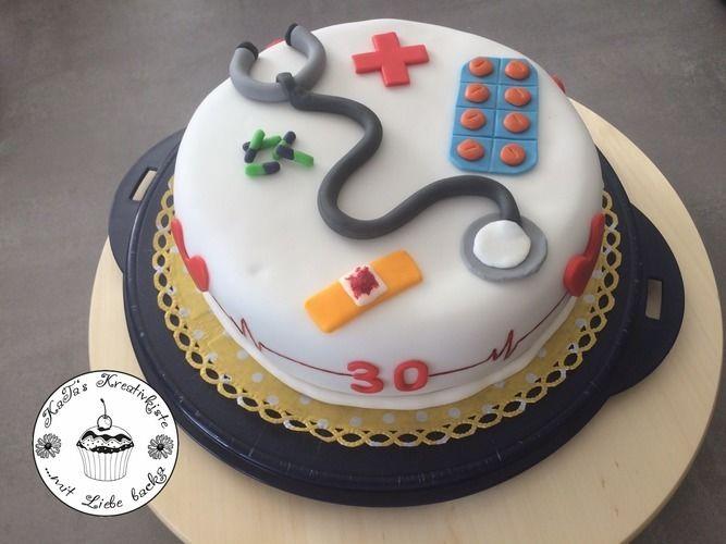Makerist - Mediziner-Torte - Torten, Cake Pops und Cupcakes - 1