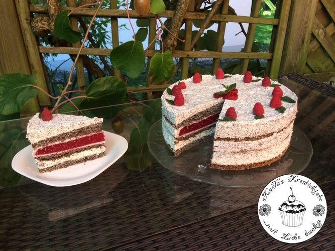 Makerist - Mohntorte mit weißer Schoko-Mohnmousse und Frucht - Torten, Cake Pops und Cupcakes - 1