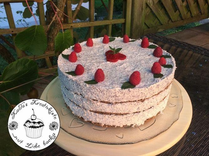 Makerist - Mohntorte mit weißer Schoko-Mohnmousse und Frucht - Torten, Cake Pops und Cupcakes - 3