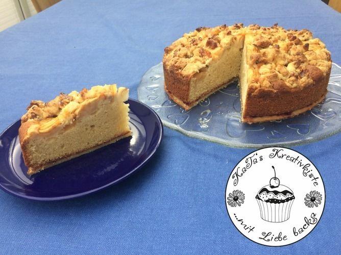 Makerist - Versunkener Apfelkuchen mit Walnüssen - Torten, Cake Pops und Cupcakes - 2