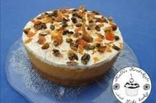 Makerist - Kürbiskuchen mit Apfelfüllung und Mascarpone-Creme - 1