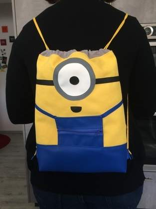 Makerist - Minion-Sportbeutel - 1