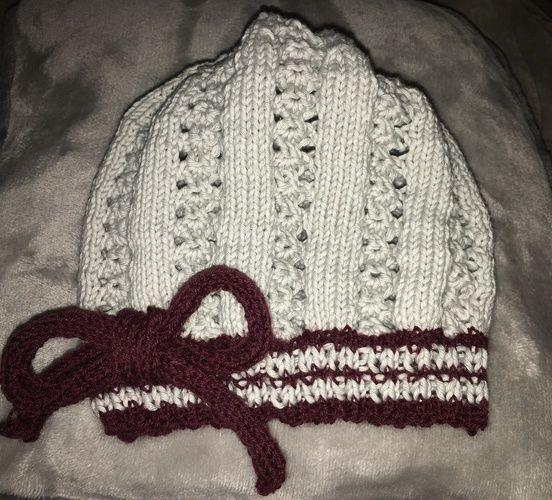 Makerist - Mütze für Baby Mathilda - Strickprojekte - 1