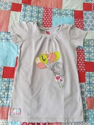 Makerist - Geburtstags-T-Shirt mit Applikation Fly away Mädchen - 1