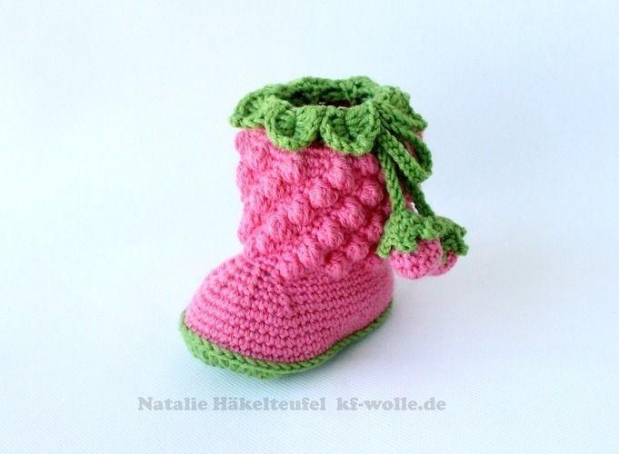 Makerist - Babystiefel - Häkelprojekte - 1