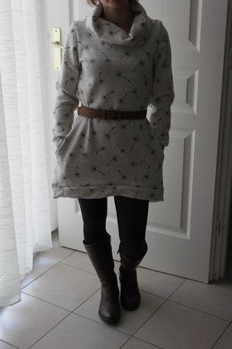 Makerist - Robe pull COCON - Usine à bulle - Créations de couture - 1
