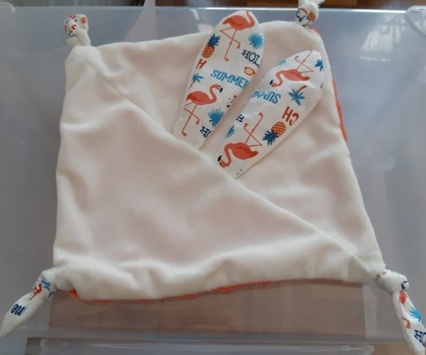 Makerist - Lapinou doudou  pour futures mamans  - Créations de couture - 1