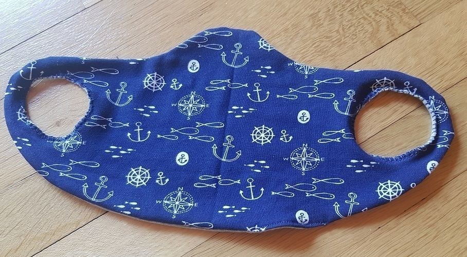 Makerist - Behelfsmasken, es werden diese Woche 60 Stück - Nähprojekte - 3