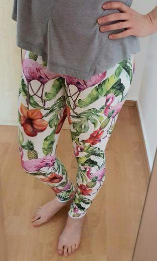 Meine Sweatleggings nach Mini&Me