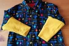 Makerist - Chemise Pac-Man pour mon 3ans - 1