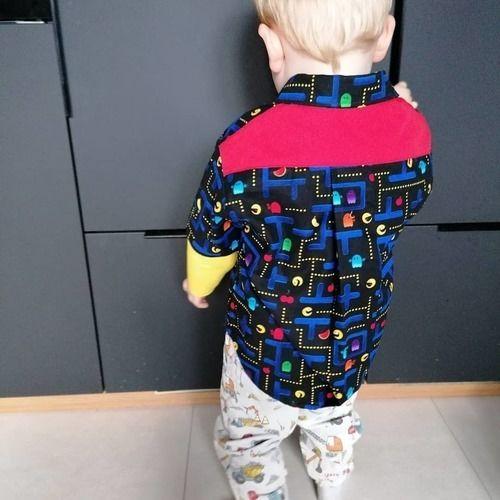 Makerist - Chemise Pac-Man pour mon 3ans - Créations de couture - 2