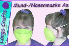 Makerist - Mund-Nasen-Maske Asia nähen DIY - 1