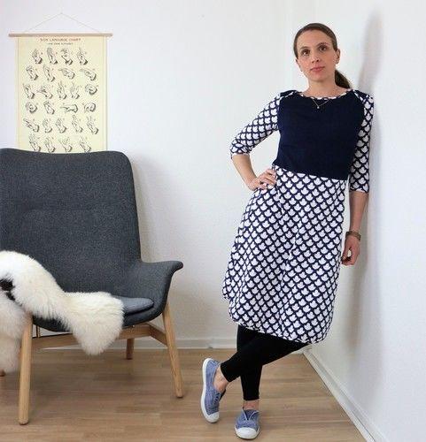 Makerist - Jerseykleid Yoko 34-60 - Nähprojekte - 1