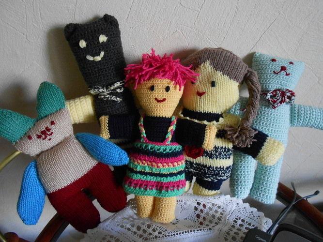 Makerist - Puppen und Bären - Häkelprojekte - 1