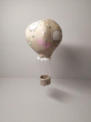 Makerist - Montgolfière en tissu - 1