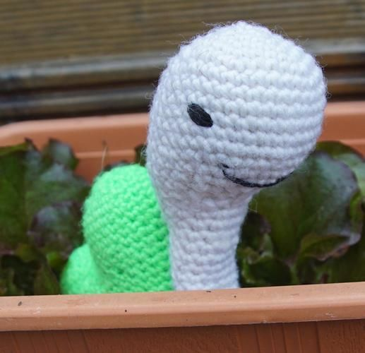 Makerist - Schnecke im Salatbeet - Häkelprojekte - 1