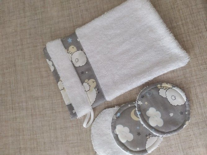 Makerist - gand de toilette et lingettes  - Créations de couture - 1