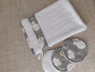 Makerist - gand de toilette et lingettes  - 1