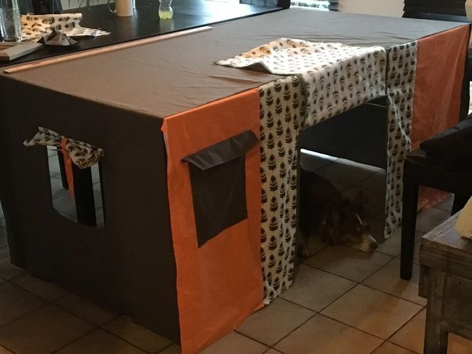 Makerist - Cabane de table  - Créations de couture - 1