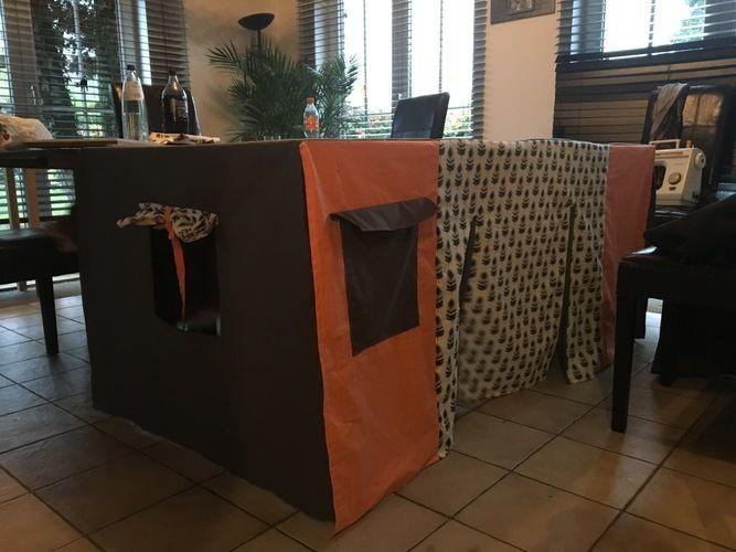 Makerist - Cabane de table  - Créations de couture - 2