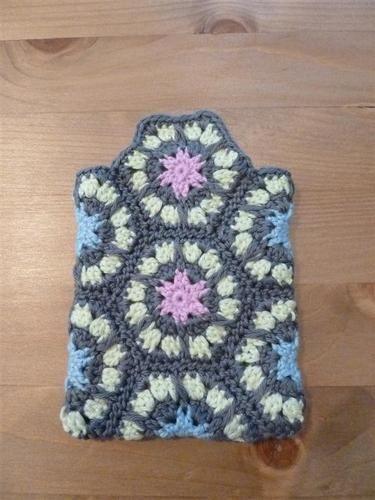 Makerist - i-Pod Gürtel Tasche aus Granny Squares  - Häkelprojekte - 3